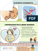 Lactancia Materna Rotafolio Completo