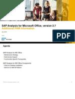 SAP Analysis MS 27