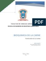 Bioquímica de La Carne