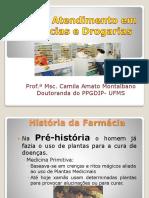 Aula 1 História Farmácia