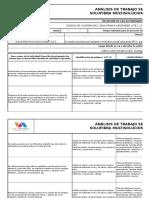 F-hse-009 Analisis de Trabajo Seguro (Ats) Vr2