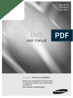 Samsung DVD-HR773 User Manual