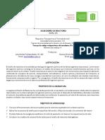2019-II Programa Diseño de Reactores