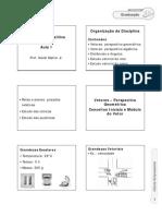 slides aula 1 de desenho técnico Uniter
