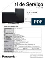 Panasonic+TC-L42U30B+-+Manual+de+Servico