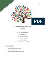 diversity lesson plan - edu 280