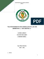 Informe Tp201 Tp 202 Tp701 Tp702