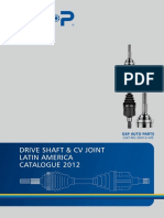 2012-II GSP Joint & Driveshaft Latin America Catalogue