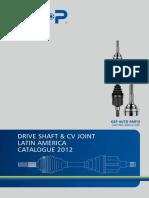 2012-II GSP Joint & Driveshaft Latin America Catalogue