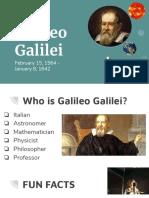 making waves galileo galilei presentation