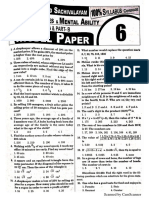 Sachivalayam Model Paper 6 EM