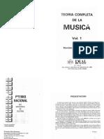 Teoría Completa de La Música Vol I