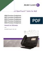 Manual Telefone Alcatel Lucent 8029