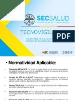 PRESENTACIÓN TECNOVIGILANCIA SECRETARIA DE SALUD DE CUNDINAMARCA