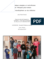 Cultures ludiques amazighes et nord-africaines et de l'Antiquité gréco-romaine. Recherche interdisciplinaire sur des millénaires