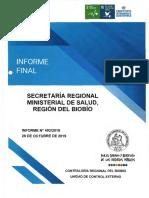 Informe de Contraloría por licencias médicas en el Biobío
