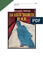 Barak, Michael - La Lista Secreta de Hr