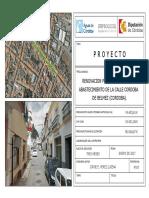 Renovación Red de Abastecimiento Calle Córdoba Belmez