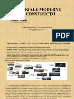 Materiale moderne de constructii