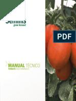 Manual técnico tomate