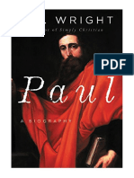 [2018] Paul by N. T. Wright | A Biography | HarperOne