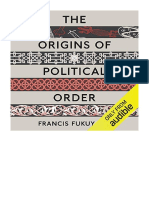 [2011] The Origins of Political Order by Francis Fukuyama | From Prehuman Times to the French Revolution | Audible Studios