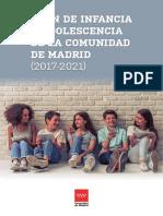 Plan de Infancia y Adolescencia de La Comunidad de Madrid