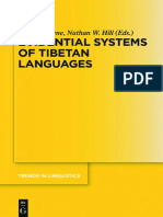 (Trends in Linguistics. Studies and Monographs, 302) Lauren Gawne, Nathan W. Hill - Evidential Systems of Tibetan Languages-Mouton de Gruyter (2017)