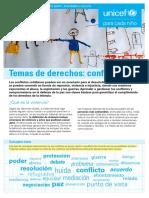 Unicef Educa Infancia Conflictos Tema Derechos Para Aula