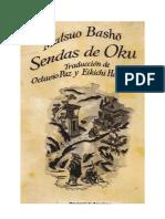 Sendas de Oku - Matsuo Basho