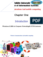 Chapter 1-Introduction Wireless Network
