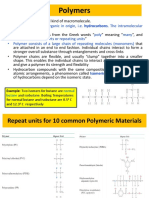 Chapter 14 - Polymer