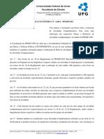 Resolução Interna 1 2019 Regras Para Plano e Relatório de Atividades Complementares