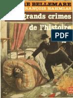 Les plus grands crimes de l'histoire de Pierre Bellemare