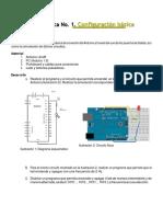 Práctica No1 Configuracion Basica