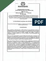 Resolución 20287 Del 02 de Diciembre de 2019