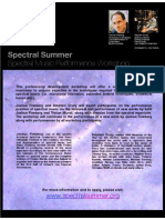 Spectral Summer Poster