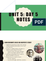unit 5 - day 5 notes