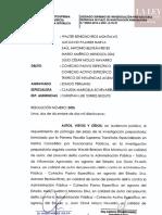 Prórroga de plazo de investigación preparatoria - 'Los Cuellos Blancos del Puerto'