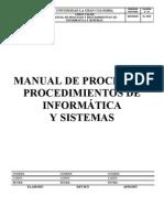 Manual Procesos Procedimientos Sistemas