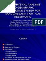 Petrophysical Analysis & GIS - Presentation