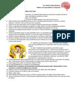 recomendacion para el hogar del niño con TDAH