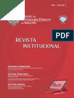 REVISTA INSTITUCIONAL DEL COLEGIO DE CONTADORES DE AREQUIPA