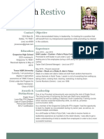 seminar resume
