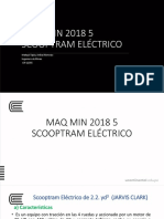 Maq Min 5 Scooptram Eléctrico