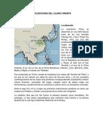 Civilizaciones Del Lejano Oriente