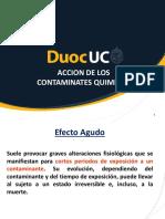 07_Accion de Los Contaminantes Químicos