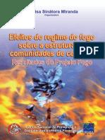 Efeitos do regime do fogo sobre a estrutura de comunidades do cerrado