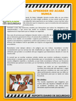 011219 Reporte Diario de SSO