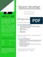 CV Nazanin Movaffagh September 2019